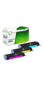 Compatible HP 501A-502A Toner