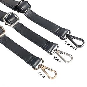 black purse strap