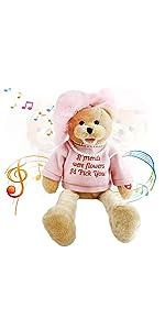 lady teddy bear