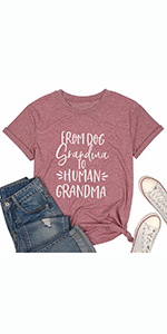 Women Pregnancy Announcement Tee Shirt Short Sleeve Casual T Shirt
