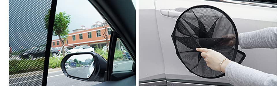 Foldable of the car sunshade
