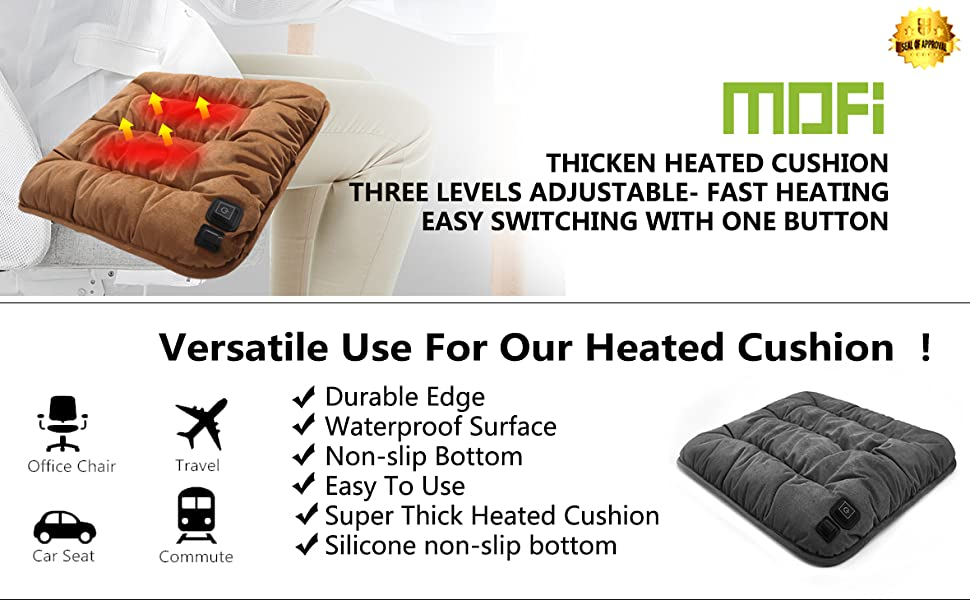 Thicken Heated Cushion - Fast Heated - Easy Use - Versatile Use