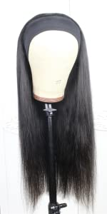 360 lace frontal Straight Wig 9A Brazilian Virgin Remy human hair