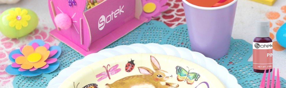Sotek Food Coloring Gel