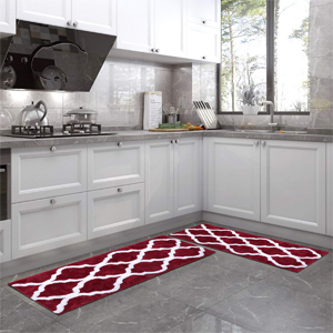 """Perfect size and color: Pauwer bath rug measures 18""""x26""""+18""""x47"""""""