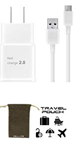 type c charger with travel pouch cellvare micro usb cable choice