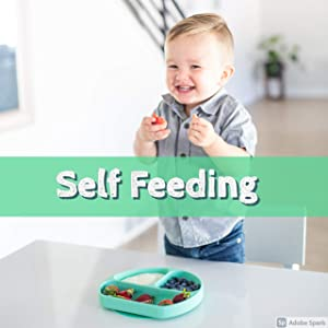 Baby Plates with Suction for Self Feeding