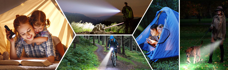 flashlight suitable for every activity