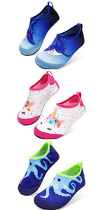 kids boys and girls water shoes toddler barefoot skin shoes