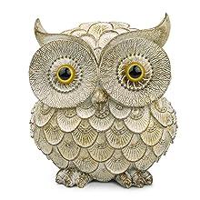 "6"" White Owl Figurine"