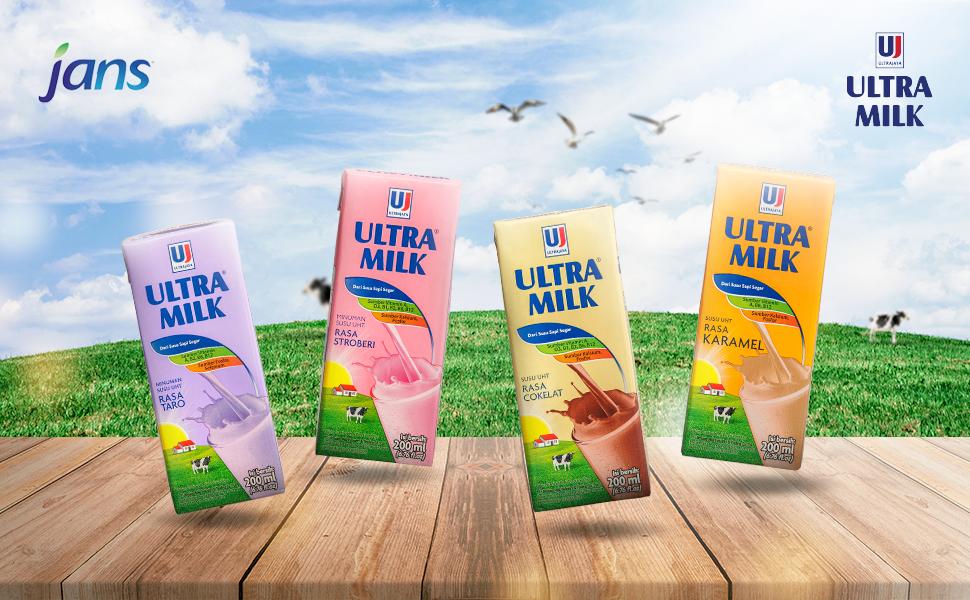 ultra, ultra milk, milk, nature, taro, ube, chocolate, strawberry, caramel