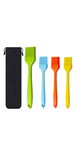 Silicone Heat Resistant Pastry Brushes