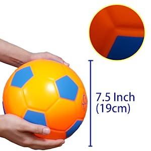 mg macro giant pu foam soccer ball kids sport toy ball