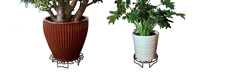 10 inch and 14 inch indoor and outdoor metal plant stand