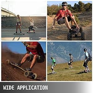 all terrain skateboard wheels