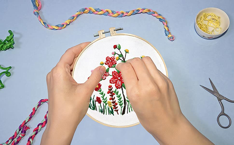 hand embroidery kit