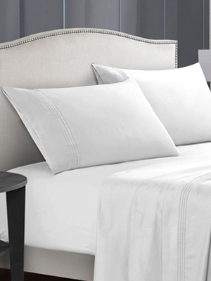 1800 ultra-soft microfiber bed sheets - double brushed breathable bedding - hypoallergenic – wrinkle