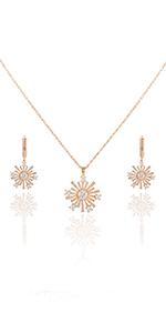 Metme Rhinestone Crystal Necklace