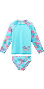 girls swimsuits long sleeve