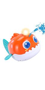 Electric Fish Bath Toys
