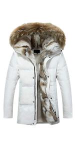 white down coats