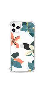 iphone 11 pro max flower case