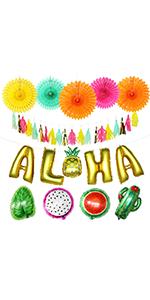 Aloha Party Decorations