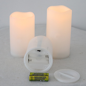 Battery flameless candles