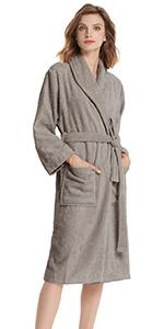 terry cotton robe