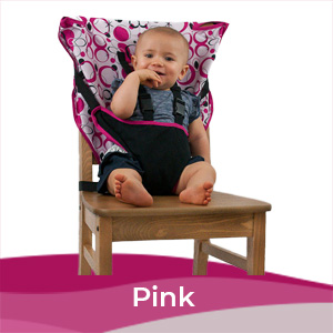 Cozy Baby Easy Seat Portable High Chair - Pink