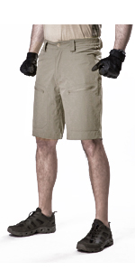 FREE SOLDIER Mens Quick Dry Summer Cargo Shorts