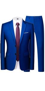 Multicolor 2 Piece Suit