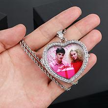 Custom Photo Hip Hip Necklace