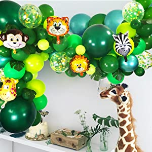 Jungle Theme Baby Shower Party Decorations