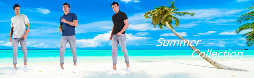 men's summer wear,t-shirt,polo shirt