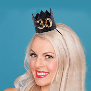 adult birthday crown