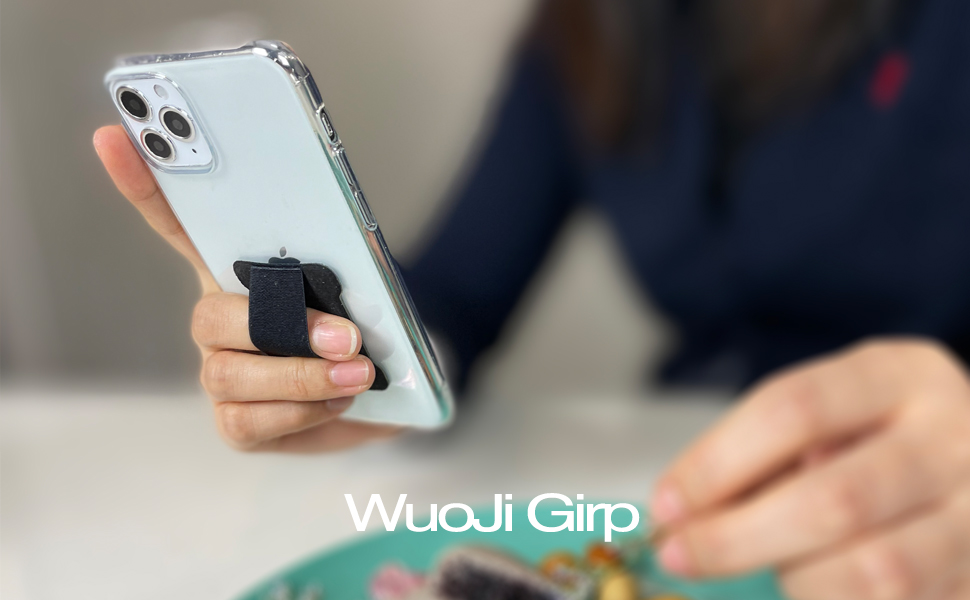 Cell Phone Grip - Hold Device with just a Finger