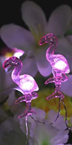 cute flamingo string lights