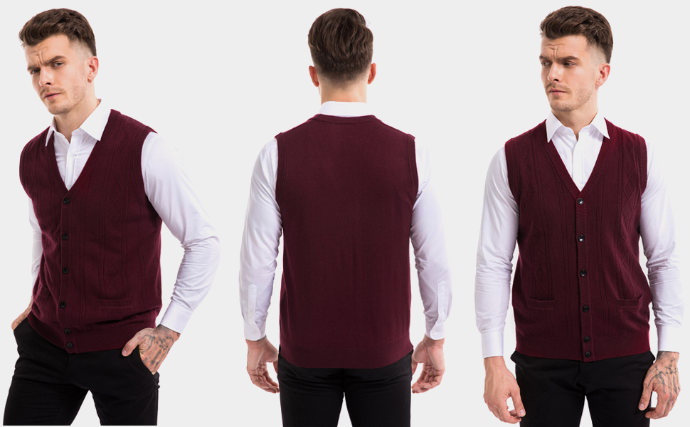 sweater vests for men