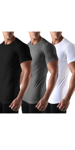 3 PACK GYM SHIRT