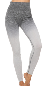 yoga pants grey
