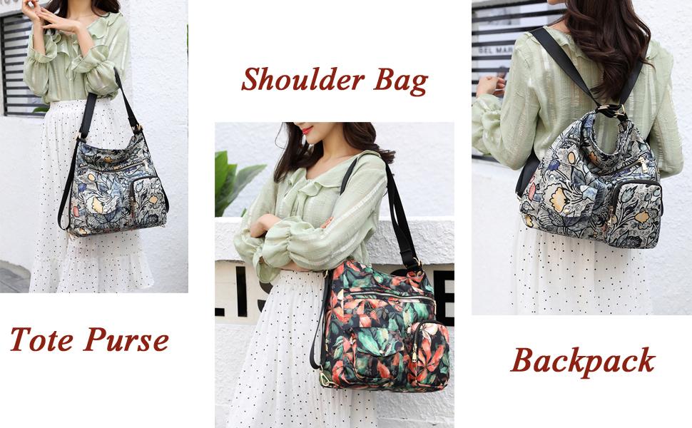 women floral bag