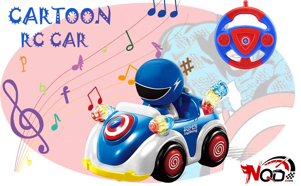 rc cartoon car