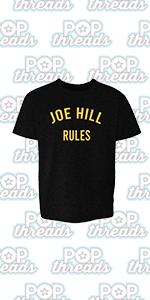 Stephen King Rules Horror Movie Book Merchandise Youth Kids Girl Boy T-Shirt