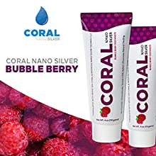 Kids Fluoride Free toothpaste bubble berry