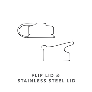 Simple Modern Summit Flip Lid and Stainless Steel Lids