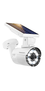 security camera with solar light