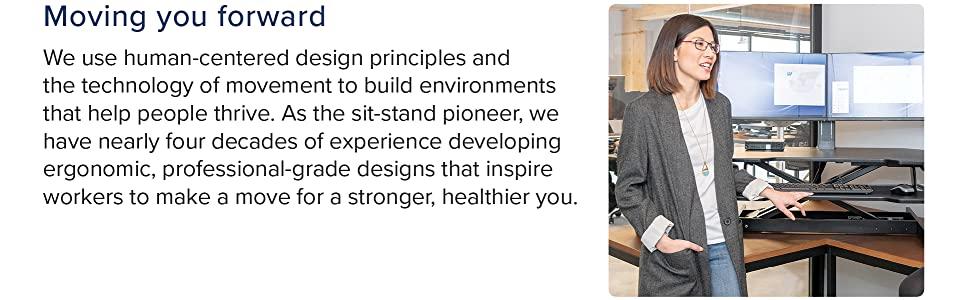 ergotron, standing desks, conversion desk, workstation, workspace, desk, ergonomic, WorkFit, office