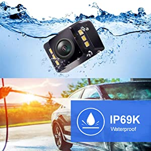 waterproof reversing camera