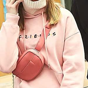 Pink Friends TV Show Hoodie
